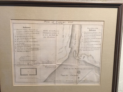 "Lionel Pincus and Princess Firyal Map Division, The New York Public Library. ""Plan of Oswego, 1727"" New York Public Library Digital Collections. Accessed September 4, 2018. http://digitalcollections.nypl.org/items/0c5097c0-1484-0134-524f-00505686a51c"